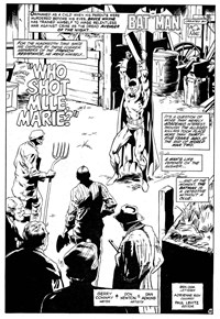 Darknight Detective (Murray, 1982?)  — Who Shot Mlle. Marie? (page 1)