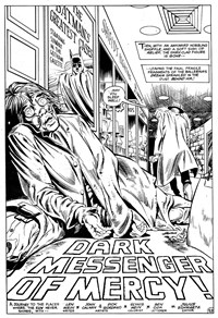 Darknight Detective (Murray, 1982?)  — Dark Messenger of Mercy! (page 1)