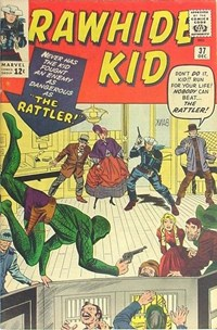 The Rawhide Kid (Marvel, 1960 series) #37 — The Rattler!