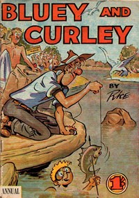 Bluey and Curley Annual (Herald, 1946? series)  — Untitled (Cover)
