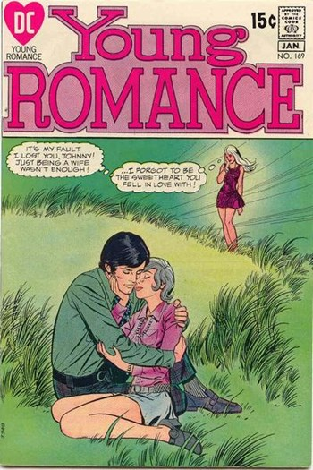 Young Romance (DC, 1963 series) #169 (December 1970-January 1971)
