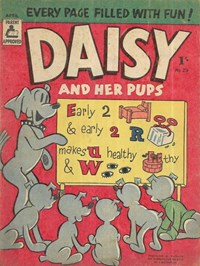 Daisy and her Pups (Magman, 1957 series) #29 (April 1958)