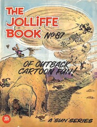 The Jolliffe Book (Sungravure, 1972? series) #87 ([1972?]) —Of Outback Cartoon Fun!