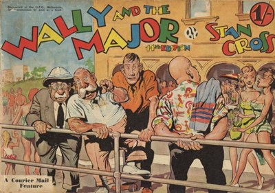 Wally and the Major [Courier-Mail] (Herald and Weekly Times, 1942 series) #14 (December 1955)