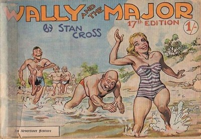 Wally and the Major [Advertiser] (Herald and Weekly Times, 1942 series) #17 (1958)
