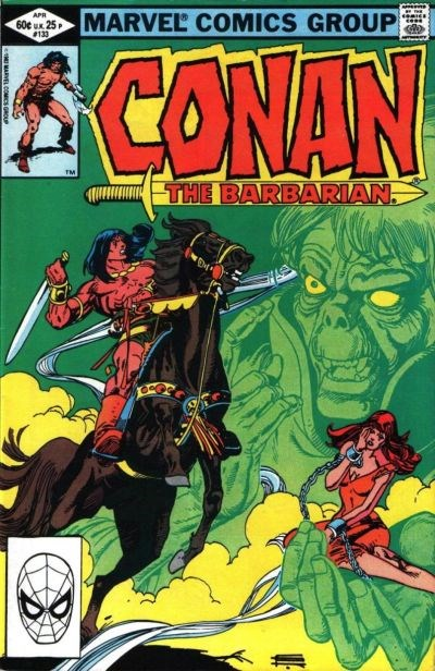 Conan the Barbarian (Marvel, 1970 series) #133 (April 1982)