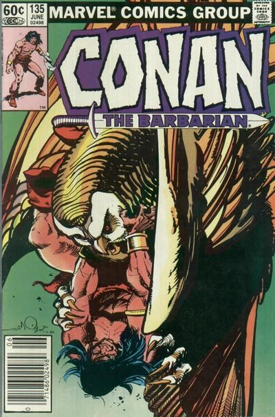 Conan the Barbarian (Marvel, 1970 series) #135 (June 1982)