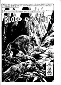 Blood Brother, Page 1—Savage Tales (Murray, 1979? series) #18  (May 1980)