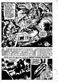 The Vengeance of Horus, Page 1—Savage Tales (Murray, 1979? series) #18  (May 1980)
