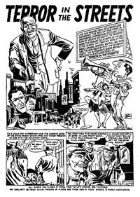 Crime Casebook (Transport, 1953? series) #16 — Terror in the Streets (page 1)