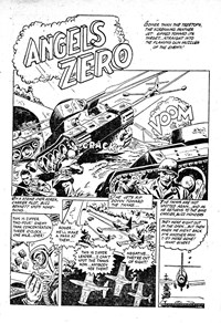 Rangers Comics (HJ Edwards, 1950? series) #30 — Angels Zero (page 1)