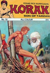 Edgar Rice Burroughs Korak Son of Tarzan (Top Sellers, 1973? series)