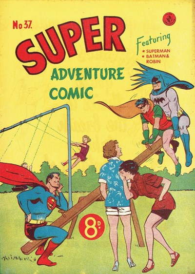 Super Adventure Comic (Colour Comics, 1950 series) #37 ([July 1953])