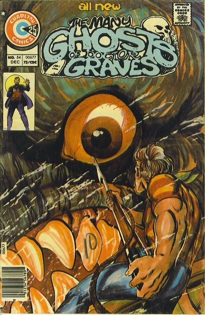 The Many Ghosts of Dr. Graves (Charlton, 1967 series) #54 (December 1975)