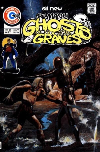The Many Ghosts of Dr. Graves (Charlton, 1967 series) #51 (May 1975)