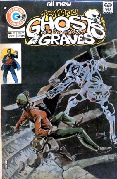 The Many Ghosts of Dr. Graves (Charlton, 1967 series) #53 (October 1975)