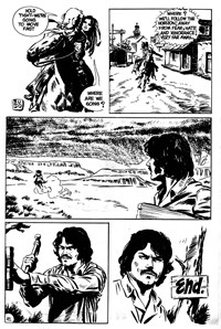 Super Western Album (KG Murray, 1975 series) #6 — Untitled [The Witch] (page 20)