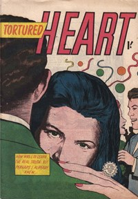 Page 1—Tortured Heart (Horwitz, 1955? series)  ([1955?])