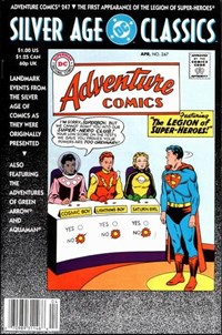 DC Silver Age Classics Adventure Comics 247 (DC, 1992 series)  — No title recorded
