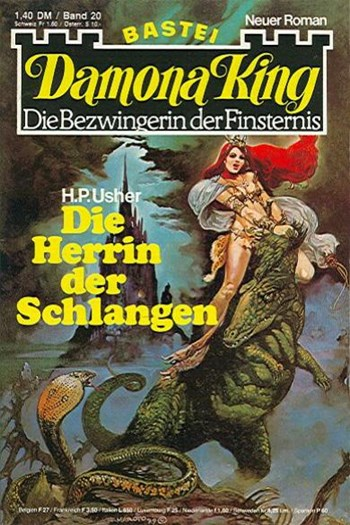 Damona King (Bastei Verlag, 1977 series) #20  (25 December 1979)