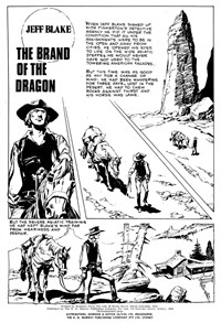 Super Western Album (KG Murray, 1975 series) #4 — The Brand of the Dragon (page 1)