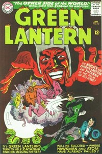 Green Lantern (DC, 1960 series) #42 — The Other Side of the World!
