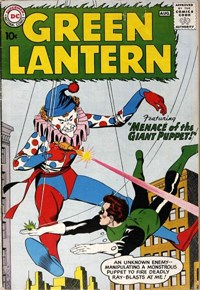 Green Lantern (DC, 1960 series) #1 — Menace of the Giant Puppet!