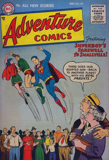 Adventure Comics (DC, 1938 series) #217 (October 1955)