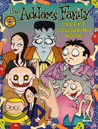 The Addams Family Creepy Colouring Book (Budget Books, 1993?)  ([1993?])