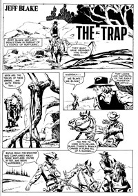 Super Western Album (KG Murray, 1975 series) #4 — The Trap (page 1)