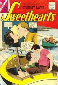 Sweethearts (Charlton, 1954 series) #78 — Stormy Love