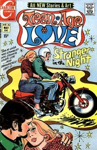 Teen-Age Love (Charlton, 1958 series) #76 — Stranger in the Night