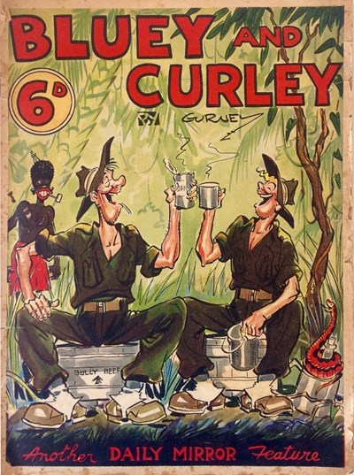 "Bluey and Curley (""Truth"" and ""Sportsman"", 1942? series)  ([1944?])"