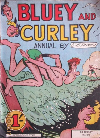 Bluey and Curley Annual (Herald, 1946? series)  ([1957?])