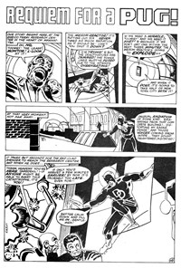 Requiem For a Pug!, Page 1—Daredevil the Man Without Fear! (Federal, 1984? series) #3  ([September 1984])