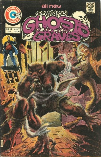 The Many Ghosts of Dr. Graves (Charlton, 1967 series) #52 (July 1975)