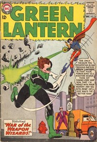 Green Lantern (DC, 1960 series) #25 — War of the Weapons Wizards!