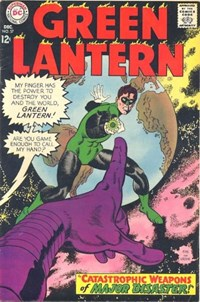 Green Lantern (DC, 1960 series) #57 — Catastrophic Weapons of Major Disaster!