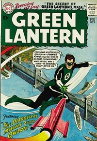 Green Lantern (DC, 1960 series) #4 — The Diabolical Missile from Qward!