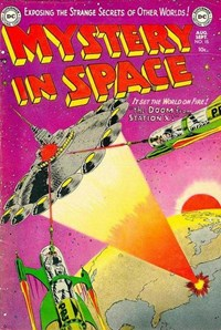 Mystery in Space (DC, 1951 series) #15 (August-September 1953)
