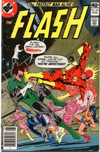 "The Flash (DC, 1959 series) #276 — ""Flash -- It's me, Green Lantern --"""