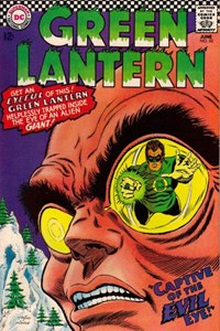 Green Lantern (DC, 1960 series) #53 — Captive of the Evil Eye!