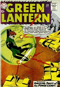 Green Lantern (DC, 1960 series) #3 — Amazing Theft of the Power Lamp!