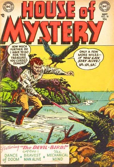 House of Mystery (DC, 1951 series) #18 (September 1953)