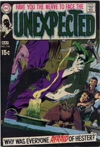 The Unexpected (DC, 1968 series) #118 (April-May 1970)