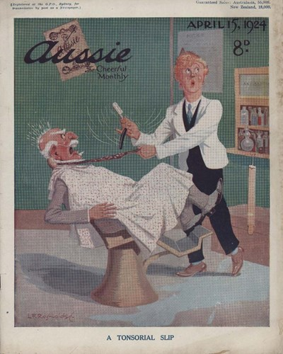 Aussie the Cheerful Monthly (Aussie, 1920 series) #62 (15 April 1924)