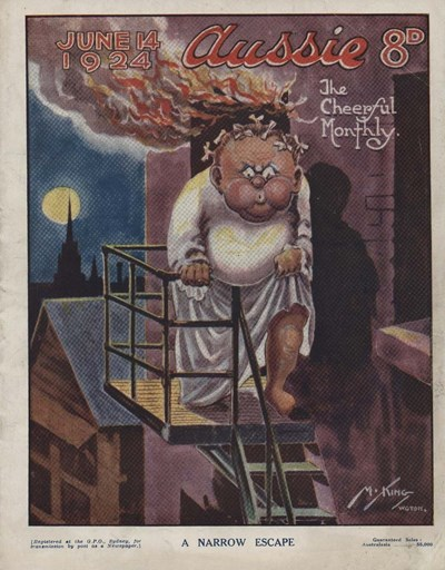 Aussie the Cheerful Monthly (Aussie, 1920 series) #64 (14 June 1924)
