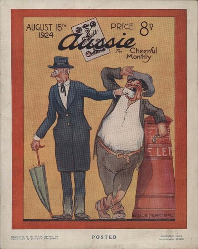 Aussie the Cheerful Monthly (Aussie, 1920 series) #66 (15 August 1924)