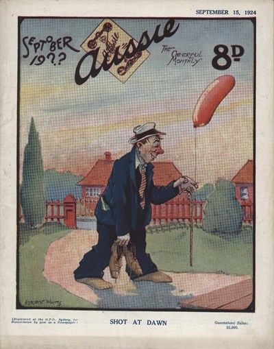 Aussie the Cheerful Monthly (Aussie, 1920 series) #67 (15 September 1924)