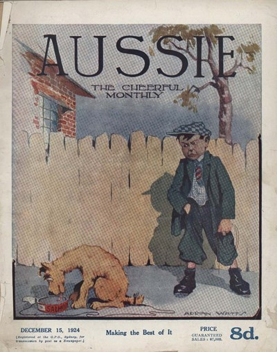 Aussie the Cheerful Monthly (Aussie, 1920 series) #70 (15 December 1924)